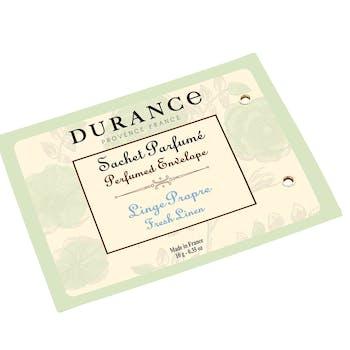 Sachet senteur parfumé Linge Propre DURANCE
