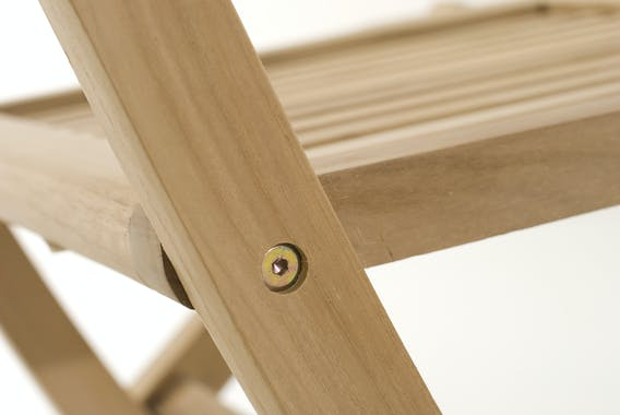 Salon de jardin en Teck table ovale 200/300cm 8 chaises SUMMER
