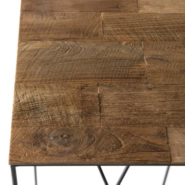 Sellette bois recyclé H75cm PANAMA