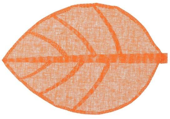 Set de table forme feuille 50 x 33 cm  Orange