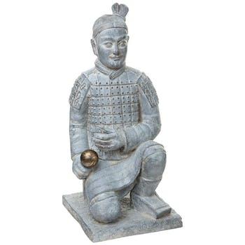 Statue Samouraî à genoux