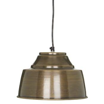 Suspension métal doré D 26 cm
