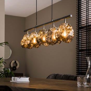 Suspension moderne 5 lampes NIAGARA