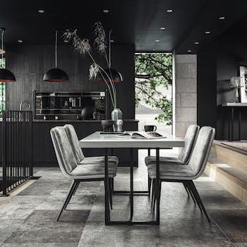 Table à manger design 160 cm KINGSTON