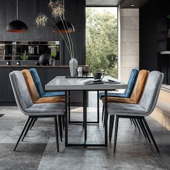 Table à manger design 200 cm KINGSTON