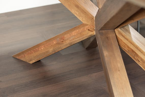Table mikado en chêne 200 cm MANHATTAN