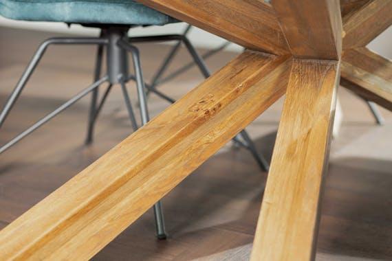 Table mikado en chêne 240 cm MANHATTAN