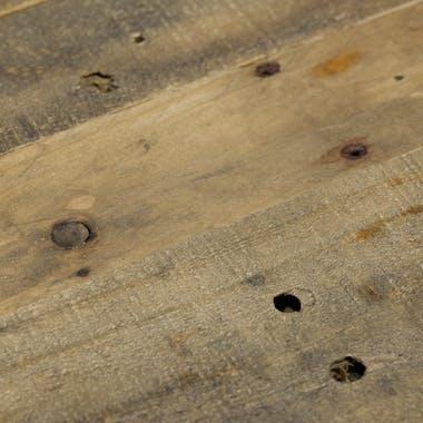 Table de repas bois recycle FSC et metal style industriel
