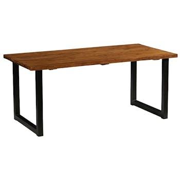 Table à manger bois recyclé de teck 180 cm PHOENIX