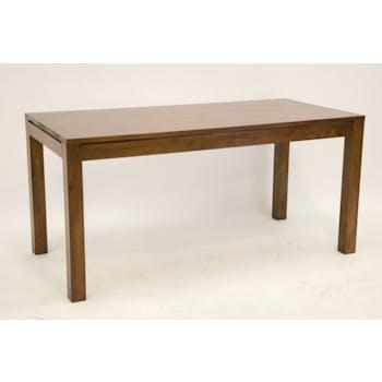 Table à manger / Bureau hévéa massif 160x75cm OLGA