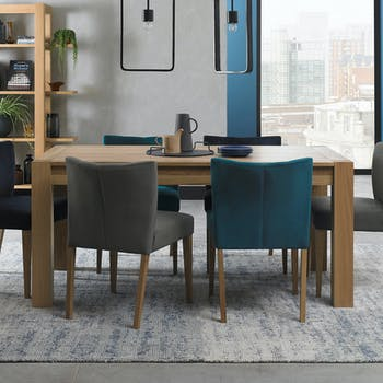 Table à manger extensible en bois 165-225 cm ALTA