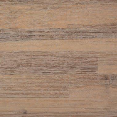 Table à manger industrielle bois d'acacia métal 200 cm PATTAYA