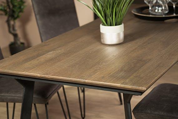 Table à manger moderne 200 cm MONTGOMERY