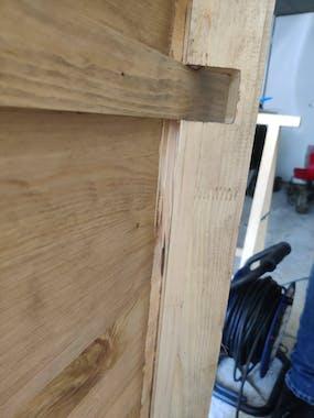 Table à manger rectangulaire bois de pin massif 160 LOUNDGE