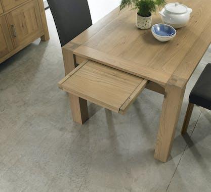 Table à manger rectangulaire en bois 165 cm ALTA