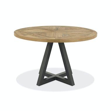 Table à manger ronde D 125 AUSTIN