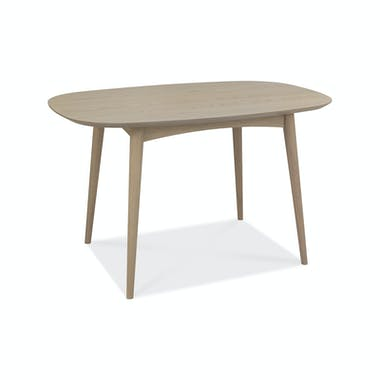 Table à manger scandinave 129 cm COPENHAGUE