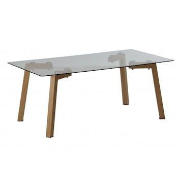 Table basse en verre HELSINKI 2