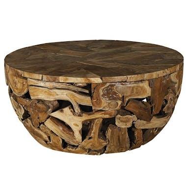 Table basse exotique bois de teck CANADA