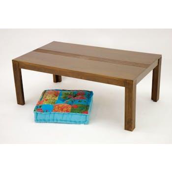 Table basse hévéa 110x60cm GALA