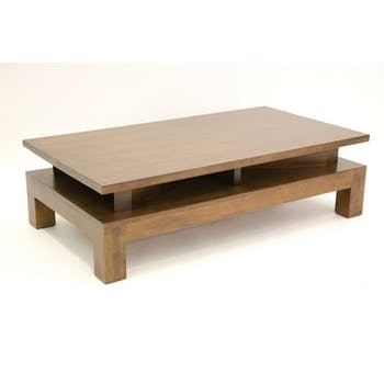 Table basse hévéa 120cm HELENA