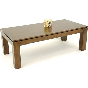 Table basse hévéa 120X60cm HELENA