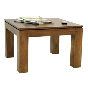 Table basse hévéa 60X60cm HELENA