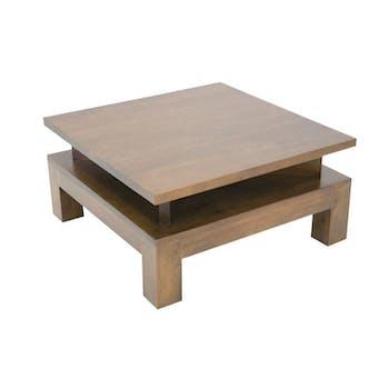 Table basse hévéa 70cm HELENA