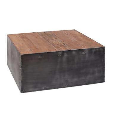 Table basse industrielle carrée SHEFFIELD