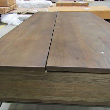 Table basse relevable chêne massif HUDSON