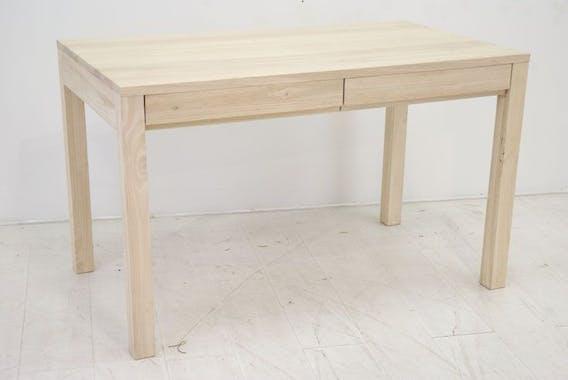 Table / bureau hévéa 125cm OLGA