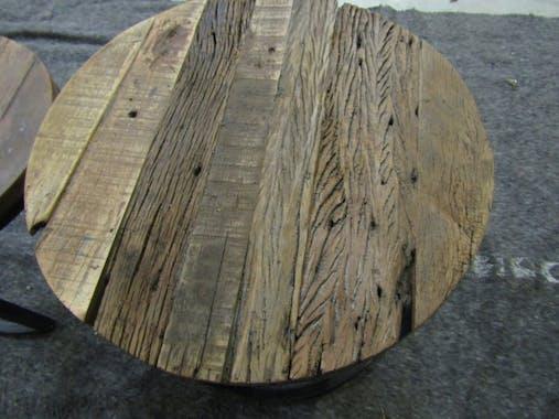 Table d'appoint gigogne ronde (2 pièces) OMSK