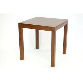Table de bar hévéa 90cm OLGA