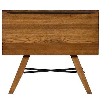Table de chevet bois de chêne MILAN