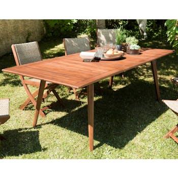 Table de jardin extensible 180/240 acacia SUMMER