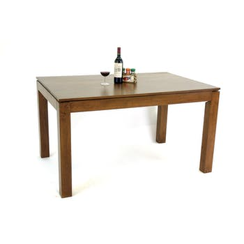 Table de repas Hévéa 135x90x76cm HELENA