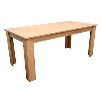 Table de Repas Hévéa 180x90x76cm BALTIC