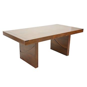 Table de repas Hévéa 190x100x76cm NIAGARA