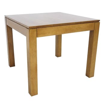 Table de repas Hévéa 80x80x74cm GALA