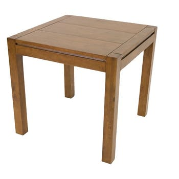 Table de repas Hévéa 80x80x76cm OLGA