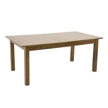 Table de repas Hévéa extensible 180/240/300x100x76cm TRADITION