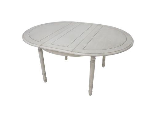 Table de repas Hévéa extensible D120x76cm /160x120x76cm TRADITION