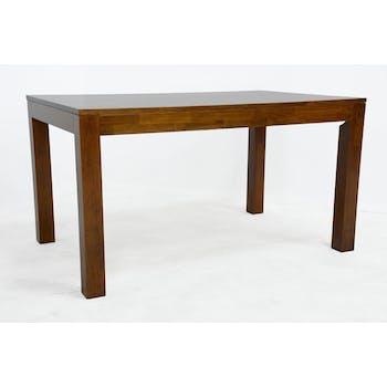 Table de repas rectangle Hévéa 140x90x76cm HELENA