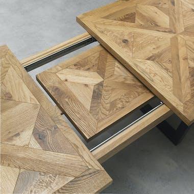 Table extensible en Chêne 158-203 AUSTIN