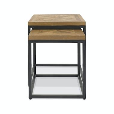 Table gigogne en bois (lot de 2) AUSTIN