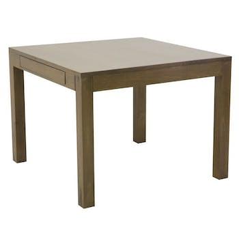 Table repas extensible hévéa 100/176cm (ouverture Papillon) OLGA