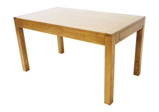 Table repas extensible hévéa 140/230cm OLGA