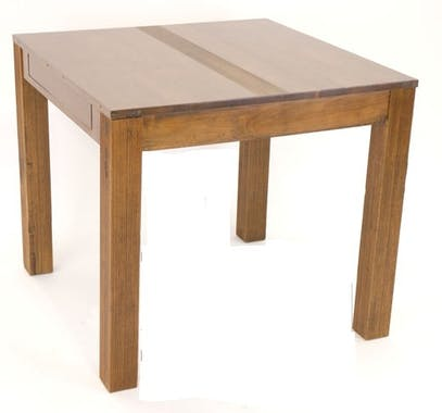 Table repas extensible hévéa 85/149cm GALA