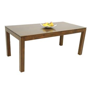Table repas hévéa 180x90cm HELENA