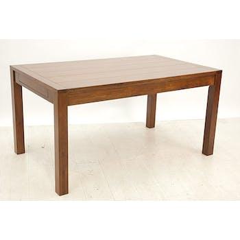 Table repas rectangle extensible 150-250cm hévéa ATTAN
